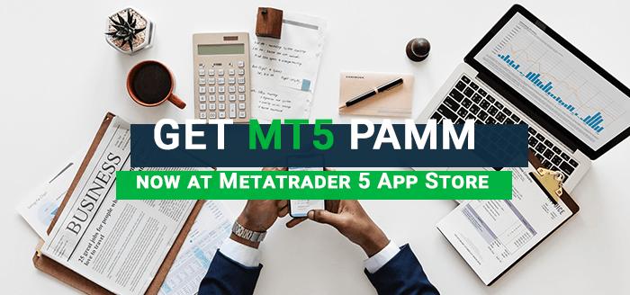 Get MT5 PAMM via MetaTrader 5 App Store